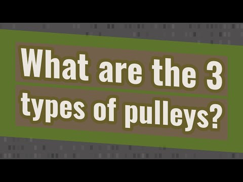 What are the 3 types of pulleys? - YouTube
