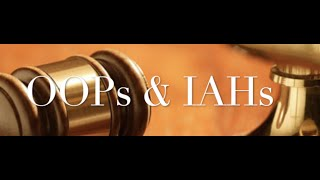The Behan Law Group, P.L.L.C. Video - OOPs and IAHs
