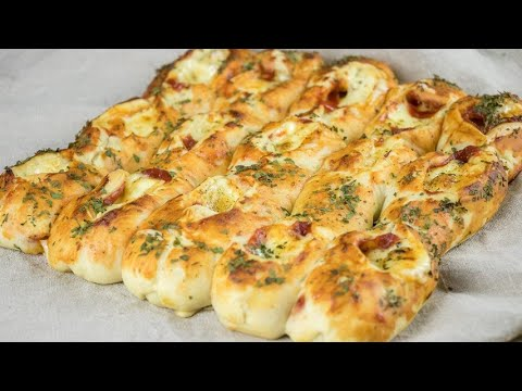 Pizza baguette this recipe is a must-try