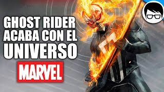 Download Video ¿GHOST RIDER ACABA CON EL UNIVERSO MARVEL? (2018) | What If - Ghost Rider #1 MP3 3GP MP4