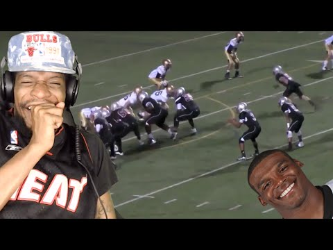 BETTER THAN CAM? CAM NEWTON'S YOUNGER BROTHER CAYLIN NEWTON IS THE REAL DEAL REACTION!!