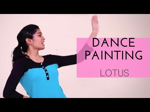 DANCE PAINTING ~ LOTUS ~ Iktara (Wake Up Sid)