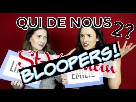 QUI DE NOUS DEUX EST? - BLOOPERS!! - Avec Laura-Gabriel