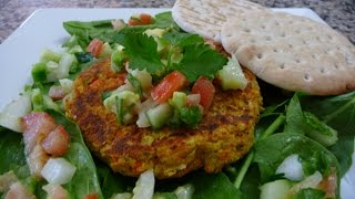 Garbanzo Patties/burger Healthy, Easy Delicious Recipes