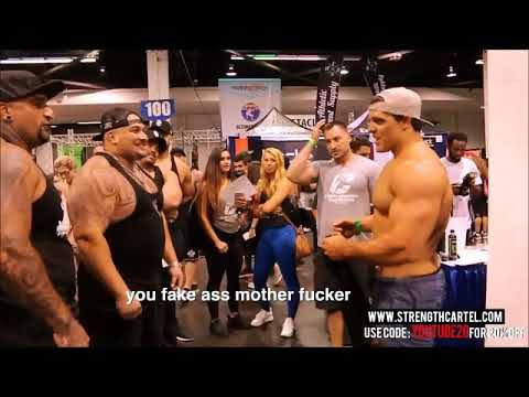 Brad Castleberry called out at Olympia Expo - Reaction