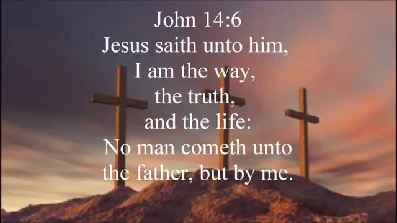 Image result for John 14:6 kjv