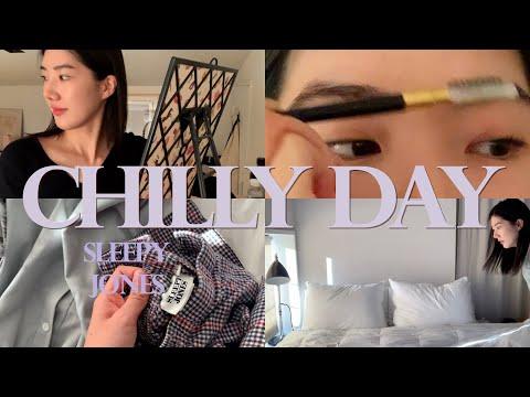 쌀쌀해진 날씨와 일상, 좋아하는 파자마 리뷰 A Chilly Day and Fav Pajama Review