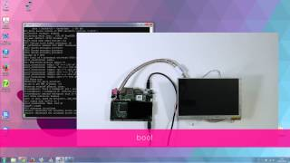 udoo s lvds touch screen connection tutorial