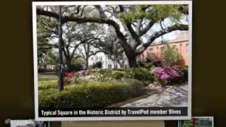 Historic District - Savannah, Georgia Coast, Georgia, United States