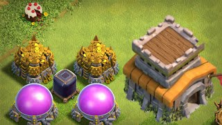 ENTERING THE GATE TO TOWN HALL 8 (Clash of Clans)