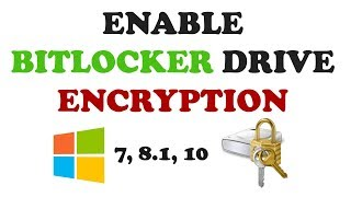 How to enable Bitlocker Drive Encryption in Windows PC