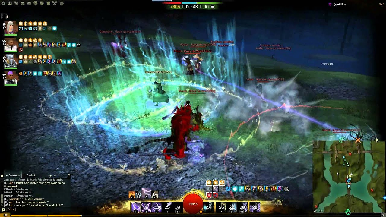 Millenium guild wars 2 guide