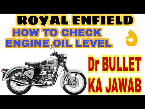 How To Check Engine Oil Level Properly In Royal Enfield Jd Vlogs