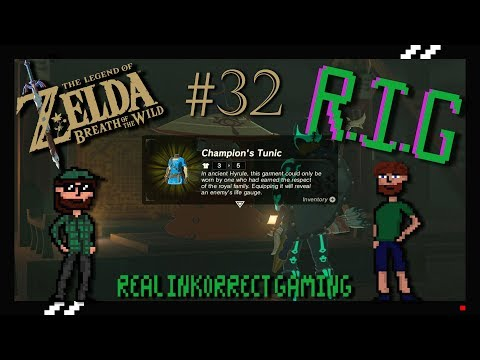 Zelda Breath of the Wild Part 32- Forest dwellers and the Champions Tunic