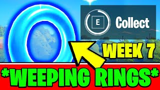 Collect Floating Rings at Weeping Woods (ALL LOCATIONS) - Fortnite Week 7