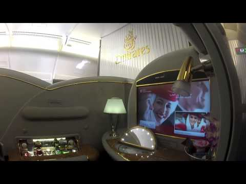 Travelling in First class planes and Hotels