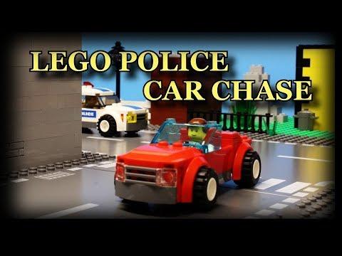 Lego Police Car Chase