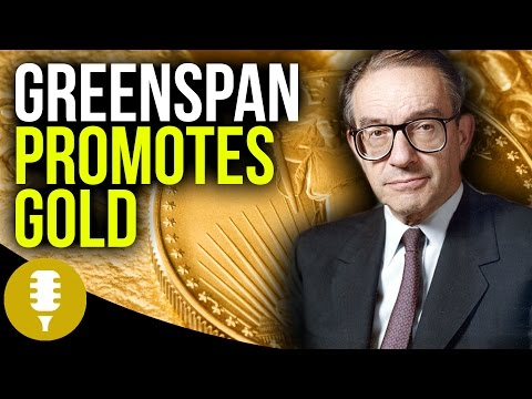 Alan Greenspan Promotes Gold - Protect Against Uncertainty   Golden Rule Radio #7