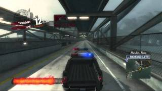 Burnout Paradise - Road Rage - 6 Year Old - Carson PCPD Inferno Van (Police Van)