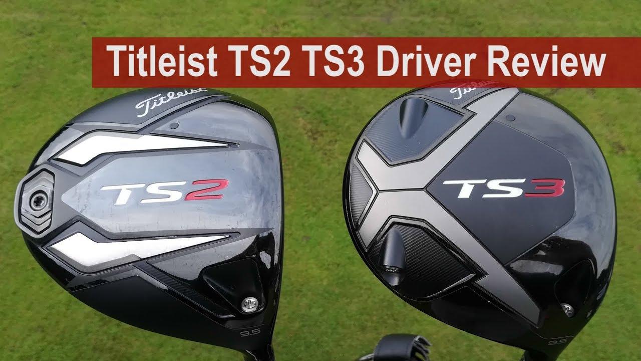 Titleist TS2 v TS3 v 917 Driver Review By Golfalot