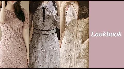 [패션하울] 하객룩🎀 | 상견례룩 | 오피스룩 | 데이트룩 | 모임룩 | 레이스원피스 | 트위드원피스 | 잇미샤 | 듀엘 | 룩북 | 키작녀 | 161cm |