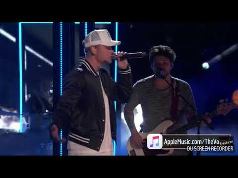"Kane Brown ""Heaven"" The Voice 2018"
