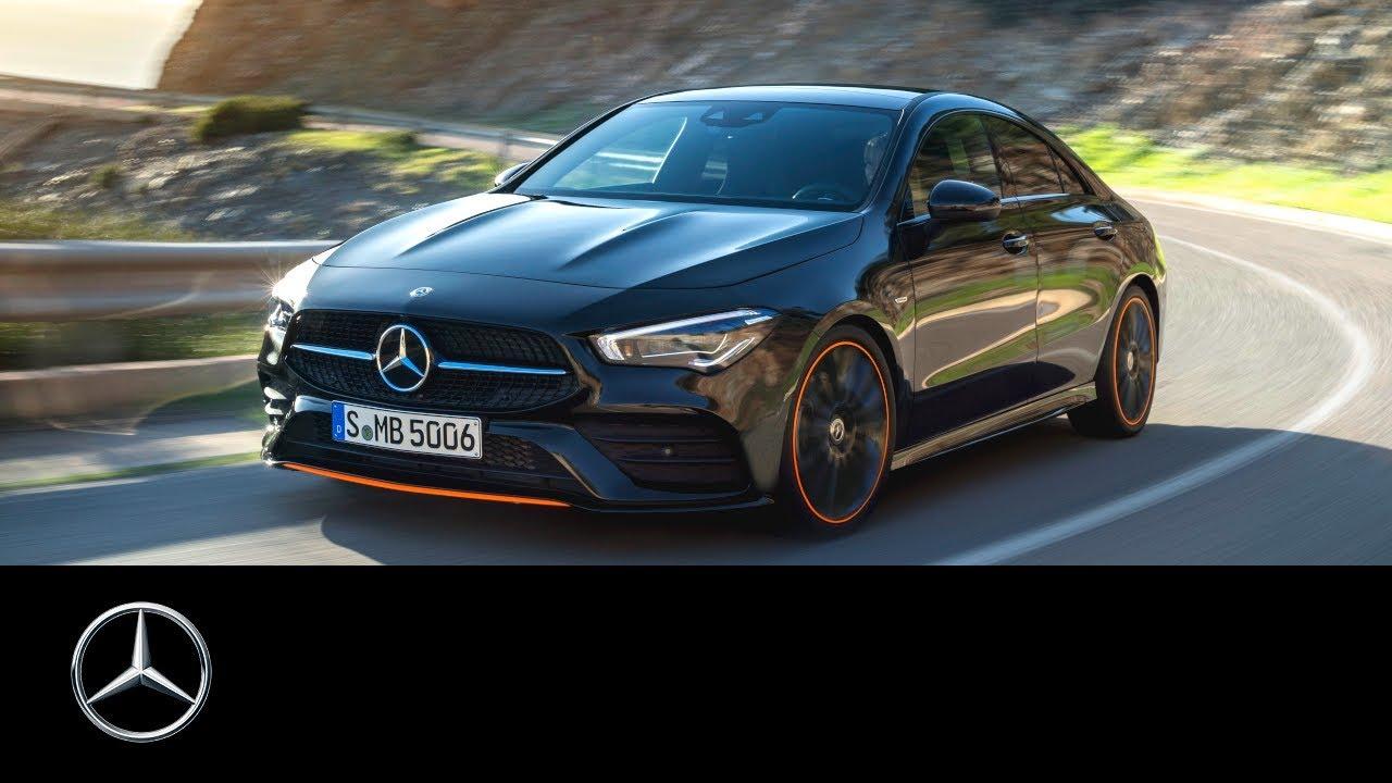 Mercedes-Benz CLA Coupé (2019) World Premiere at CES ...
