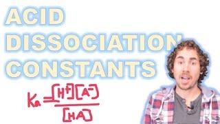 Acid/Base Dissociation Constant