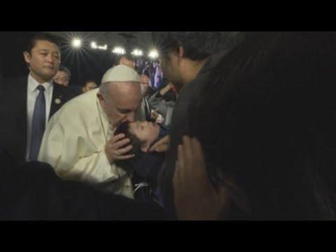El Papa Francisco visita Japón