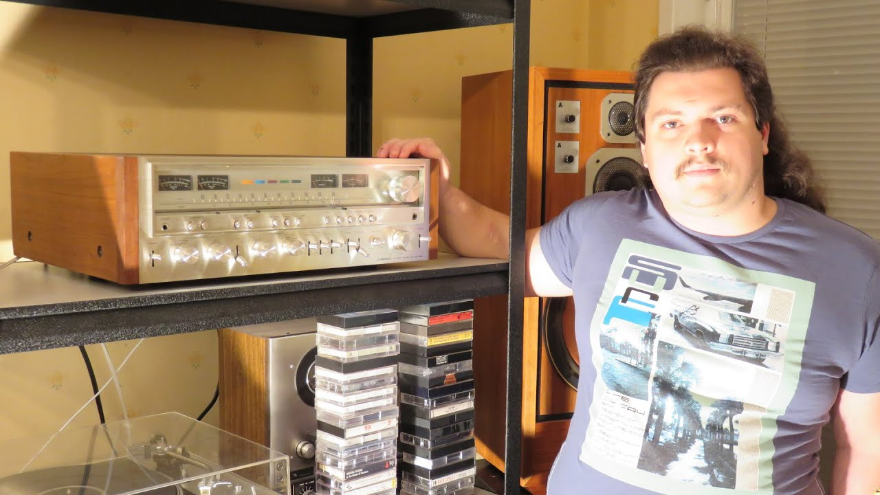 Pioneer SX-1080 stereo monster receiver review, oppinion & sound test