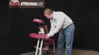Ergo Pro Portable Massage Chair Demonstration