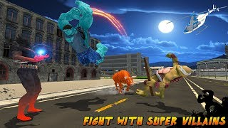 Multi Monster Bull Hero VS Super Villains Android Gameplay