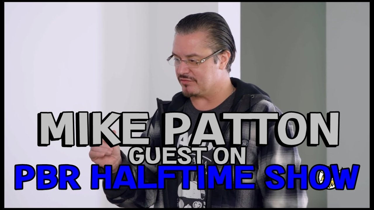 Mike Pattons Appereance On Pbr Halftime Show Youtube