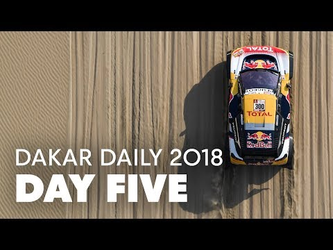 Day 5: Peterhansel Takes the Lead | Dakar Daily 2018