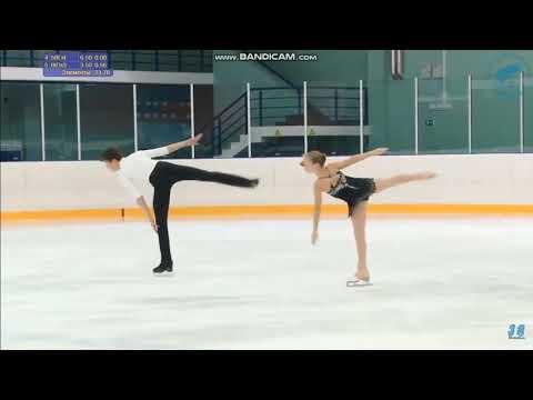 Валерия Поносова - Артем Панов КП КМС Первенство Санкт-Петербурга 2019