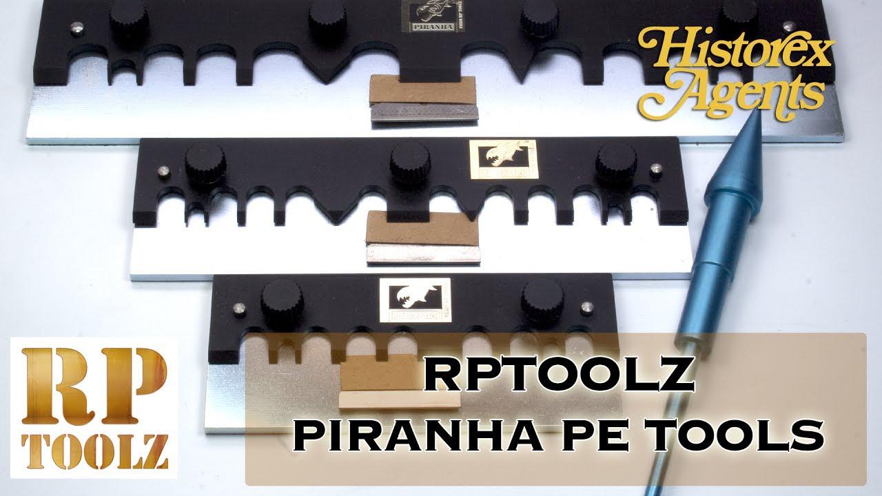RP Toolz #PIR-195 Piranha Photo Etch Bending Tool 195mm