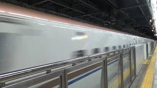 E7系F編成 北陸新幹線 かがやき512号 通過 軽井沢駅