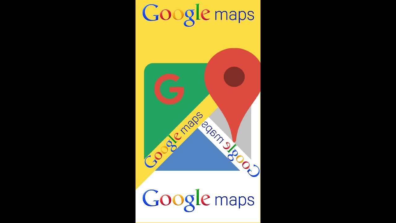 Measure distance between two points Google Maps HD - YouTube on