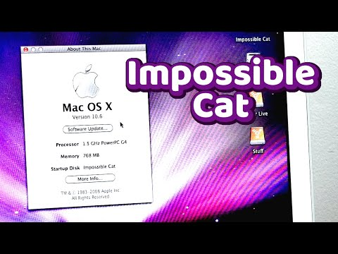 The Impossible Cat - How To Install The OS X 10.6 Snow Leopard PowerPC Beta On G4 Macs