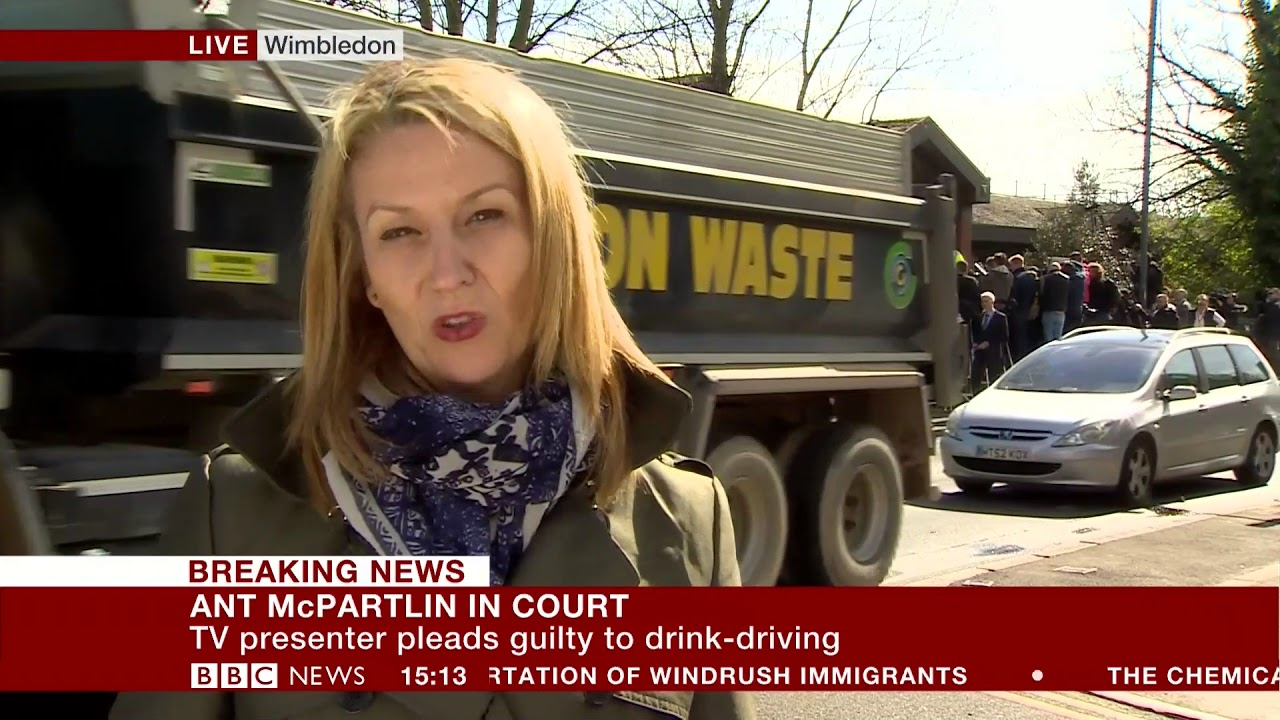 bbc news afternoon live catch road accident live on tv behind