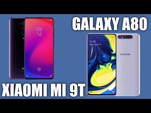 Samsung Galaxy A80 Vs Xiaomi Mi 9T. Сравнение!