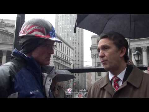 Rick Lazio Interview @ Terror Trial Protest