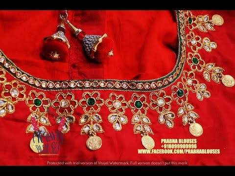 Kasu work blouse designs