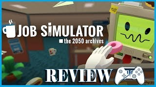 Job Simulator VR Review (Video Game Video Review)