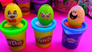 NEW Kinder Suprise Eggs - Play Doh Eggs - 2015 - Egg Surprise - Kinder Jaja