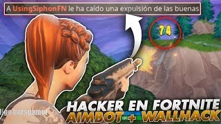 THIS IS WHAT HAPPENS IF YOU USE HACKS IN FORTNITE!! REAL AIMBOT + WALLHACK