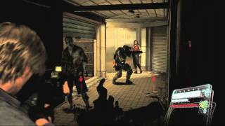 Resident Evil 6 Chapter 5 Leon! Avoid the Gas!! Gameplay Walkthrough Playstation 3 Xbox 360 HD