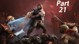 Middle Earth Shadow of Mordor Gameplay Walkthrough Part 21- Big Game (XBOX ONE Gameplay)