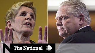 Wynne likens Doug Ford to Donald Trump