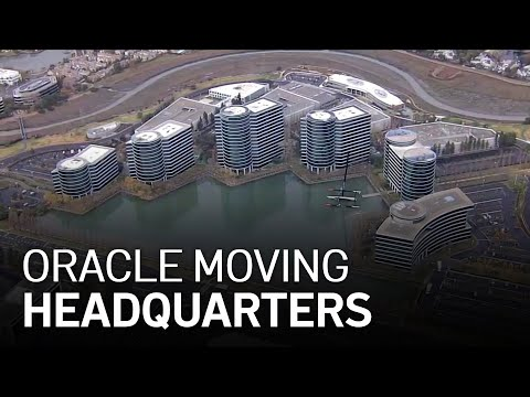 Oracle Moving HQ From Bay Area to Texas